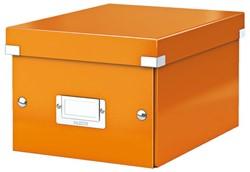Opbergbox Leitz Click en Store 200x148x250mm oranje.