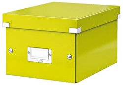 Opbergbox Leitz Click en Store 200x148x250mm groen.