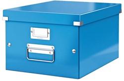 Opbergbox Leitz Click & Store 265x188x335mm blauw.
