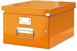 Opbergbox Leitz Click en Store 265x188x335mm oranje.