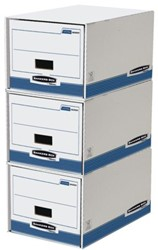 Archieflade Fellowes Bankers Box system 350x290x545mm. Afname per 5 stuks.