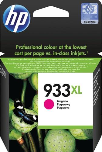 Inktcartridge HP CN055AE 933XL magenta HC.