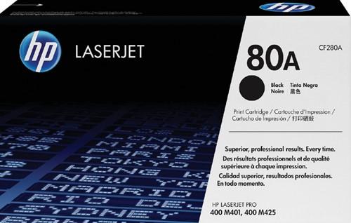 Toner HP CF280A 80A zwart.
