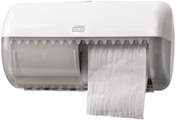 Dispenser Tork T4 toiletpapierdispenser 557000 wit.