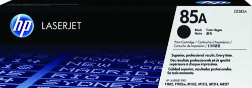 Toner HP CE285A 85A zwart.
