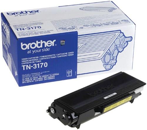 Toner Brother TN-3170 zwart HC.