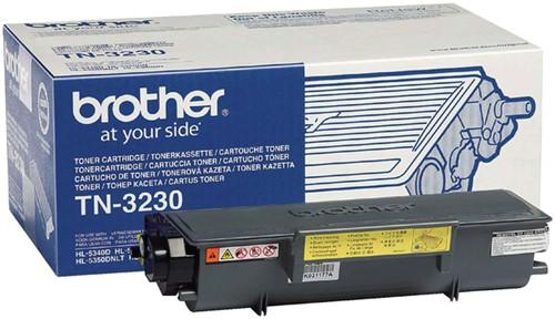 Toner Brother TN-3230 zwart.