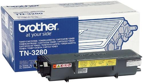 Toner Brother TN-3280 zwart.