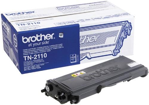 Toner Brother TN-2110 zwart.