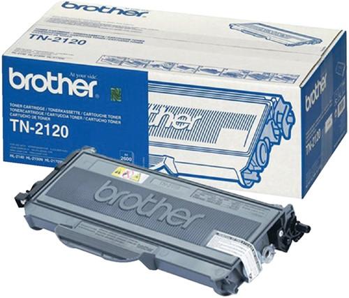 Toner Brother TN-2120 zwart.