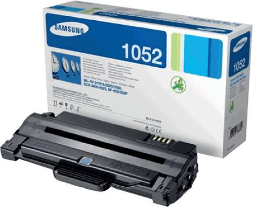 Toner Samsung MLT-D1052S zwart.