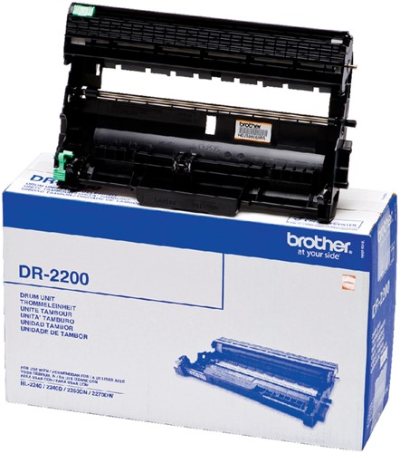 Drum Brother DR-2200 zwart.