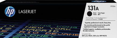 Toner HP CF210A 131A zwart.