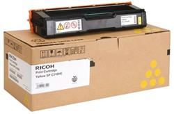 Toner Ricoh 406351 2.5K geel.