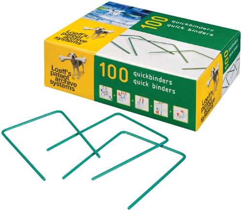 Bundelbeugel Loeff 1215 Quickbinder 100mm 100 stuks.