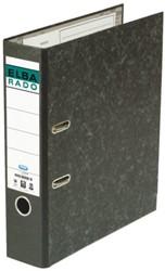 Ordner Elba Rado A4 75mm karton zwart gewolkt. Afname per 20 stuks.