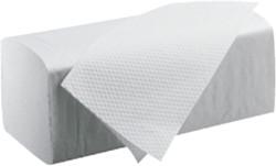 Handdoek Satino Black 25x23cm 2-laags zigzag 3200 stuks.