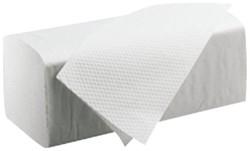 Handdoek Satino Black 25x23cm 1-laags zigzag 4600 stuks.