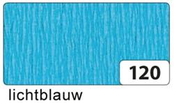 Crepepapier Folia 250x50cm #120 lichtblauw.