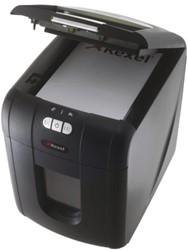 Papiervernietiger Rexel Auto+100 snipper 4x50mm capaciteit 7 vel 70 grams papier.