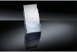 Folderstandaard Sigel LH130 3XA4 staand transparant.