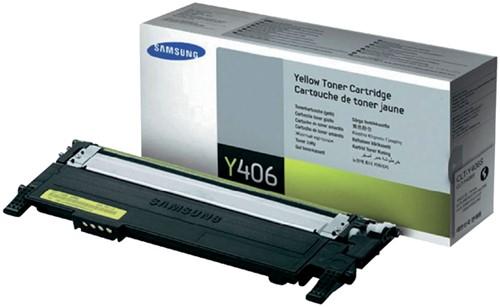 Toner Samsung CLT-Y406S geel.