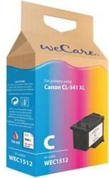Inktcartridge WECARE CL-541XL kleur HC (Canon).