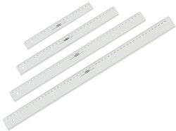 Liniaal M+R 1150 500mm plastic transparant.
