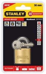 Hangslot Stanley messing 30mm.