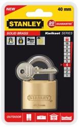 Hangslot Stanley messing 40mm.