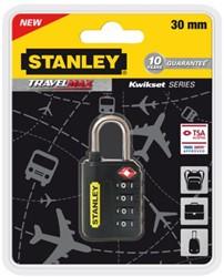 Reisslot Stanley 4 cijferige code 30mm.