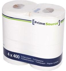 Toiletpapier PrimeSource Duo 2-laags 400 vel 40 rollen.