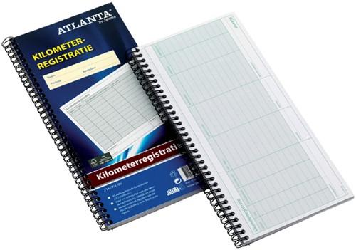 Kilometer registratieboek Atlanta A5419-042 40x2 vel.