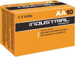 Batterij Industrial AA alkaline doos à 10 stuks.