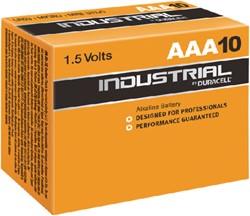 Batterij Industrial AAA alkaline doos à 10 stuks.