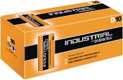 Batterij Industrial D alkaline doos à 10 stuks.