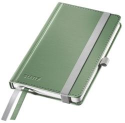 Notitieboek Leitz Style A6 harde kaft zeegroen - 80 vel 100 grams gelijnd ivoorpapier 4489-00-53.