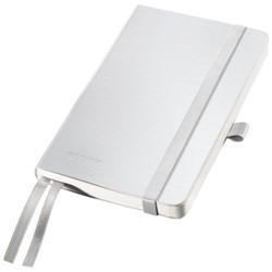 Notitieboek Leitz Style A6 zachte kaft poolwit - 80 vel 100 grams gelijnd ivoorpapier 4492-00-04.