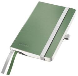 Notitieboek Leitz Style A6 zachte kaft zeegroen - 80 vel 100 grams gelijnd ivoorpapier 4492-00-53.