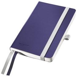 Notitieboek Leitz Style A6 zachte kaft titaniumblauw - 80 vel 100 grams gelijnd ivoorpapier 4492-00-69.
