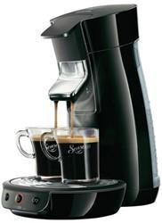 Koffiezetapparaat Senseo zwart.