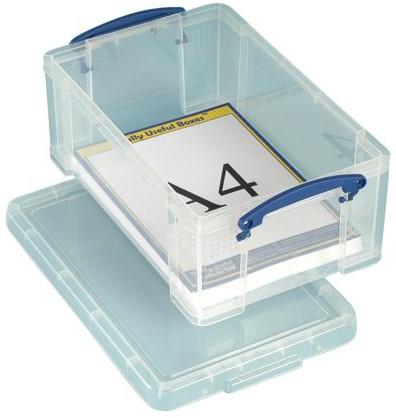 Opbergbox Really Useful 9 liter 395x255x155mm (bxhxd).-3