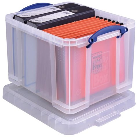 Opbergbox Really Useful 35 liter 480x390x310mm (bxhxd).-2