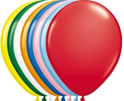 Ballonnen Folat 100stuks 30cm assorti kleuren.
