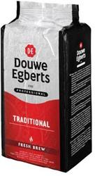 Koffie Douwe Egberts Fresh automatenkoffie 1000 gram.