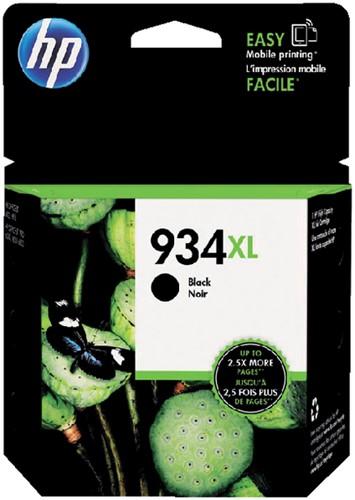 Inktcartridge HP C2P23AE 934XL zwart HC.