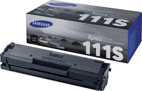 Toner Samsung MLT-D111S zwart.