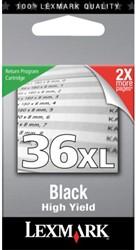 Inktcartridge Lexmark 36Xl 18C2170E prebate zwart HC.