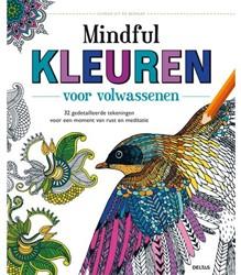 kleurboek Deltas volwassenen mindful kleuren.