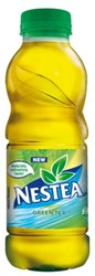Frisdrank Nestea green petfles 0.50 liter. Afname is per 12 flesjes.